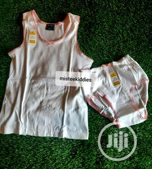 M.S Singlet and Pant. Is 100% Pure Cotton,It Absorb Heat   Children's Clothing for sale in Lagos State, Alimosho