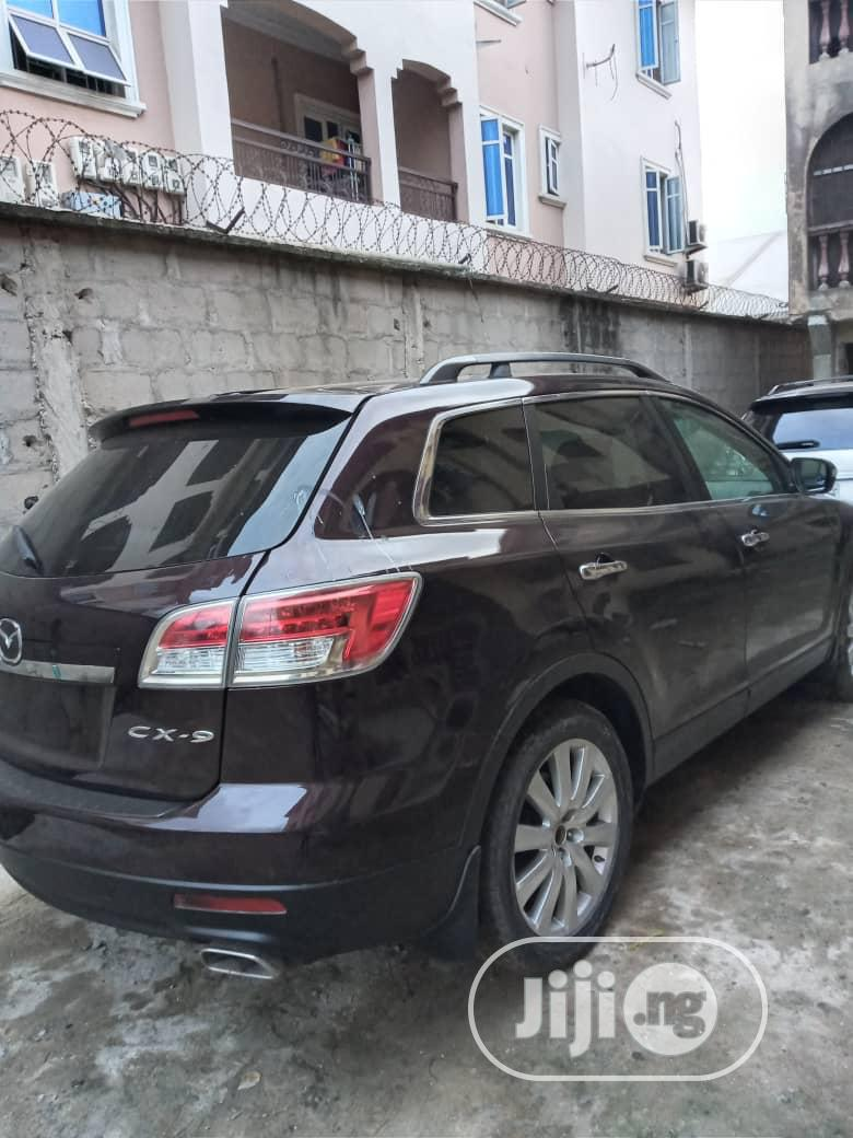Mazda CX-9 2008 Grand Touring 4WD Red | Cars for sale in Isolo, Lagos State, Nigeria