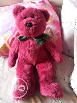 New Red Cute Teddy With a Green Bow | Toys for sale in Lagos State, Amuwo-Odofin