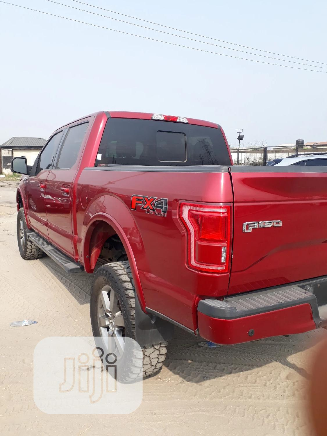 Ford F-150 2015 Red   Cars for sale in Lekki, Lagos State, Nigeria