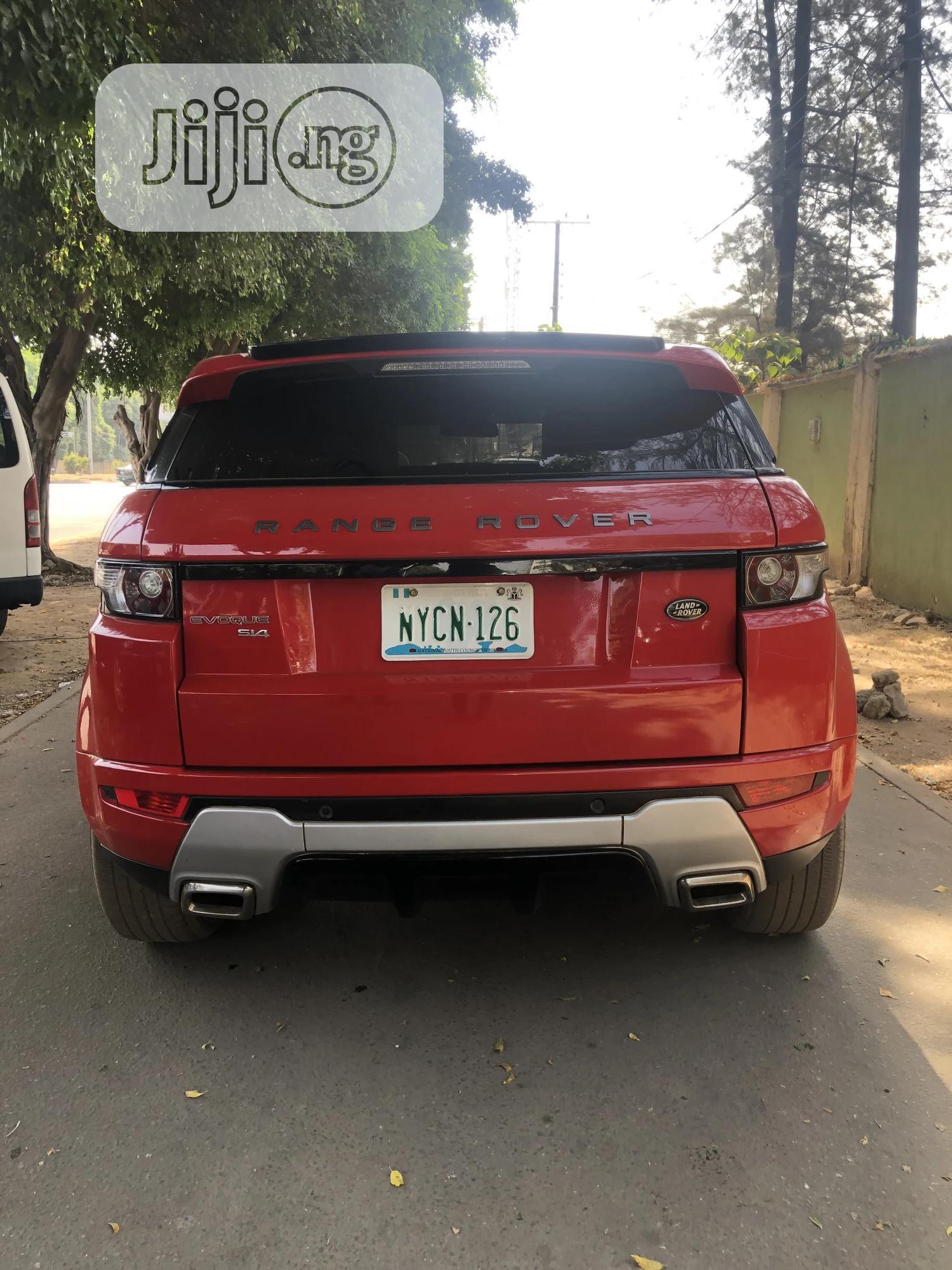 Land Rover Range Rover Evoque 2014 Red | Cars for sale in Garki 2, Abuja (FCT) State, Nigeria