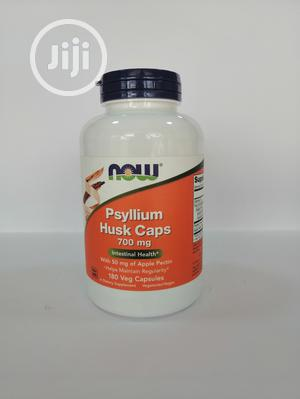 Now Psyllium Husk Capsules for Constipation | Vitamins & Supplements for sale in Lagos State, Lagos Island (Eko)