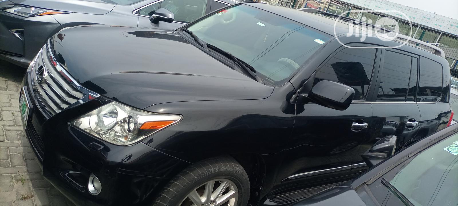 Archive: Lexus LX 2008 570 Black