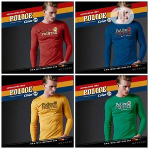 Police Bc013 Large Size Long Sleeve T-Shirt   Clothing for sale in Lagos State, Surulere