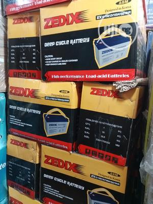 12v 100ah Zedix Battery | Solar Energy for sale in Lagos State, Ojo