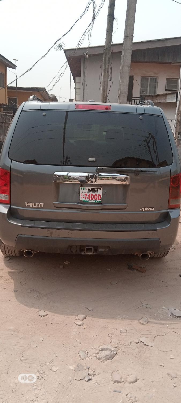 Honda Pilot 2010 Gray   Cars for sale in Ojota, Lagos State, Nigeria