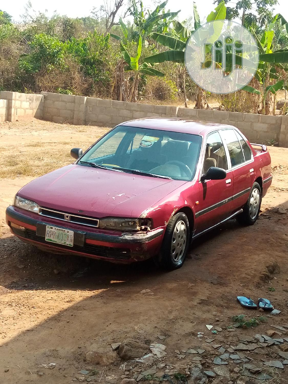 Archive: Honda Accord 1999 Coupe Red