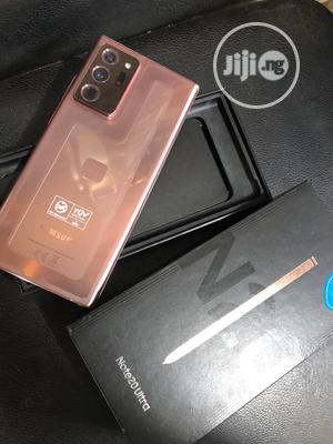 Samsung Galaxy Note 20 Ultra 5G 256GB Gold   Mobile Phones for sale in Abuja (FCT) State, Wuse