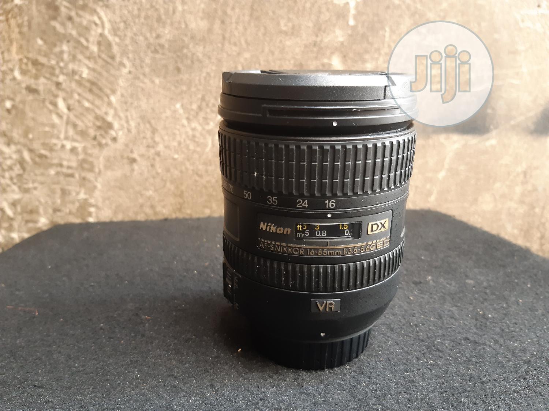Nikon 16-85mm Full Frame Wide Angle Lens.