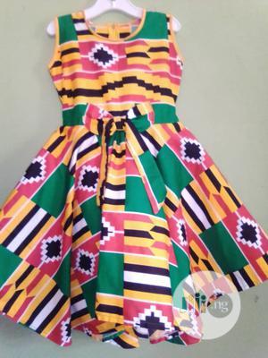 2k Easter Sales Splash Girls Gown. Children Ankara Kente | Children's Clothing for sale in Lagos State, Lekki