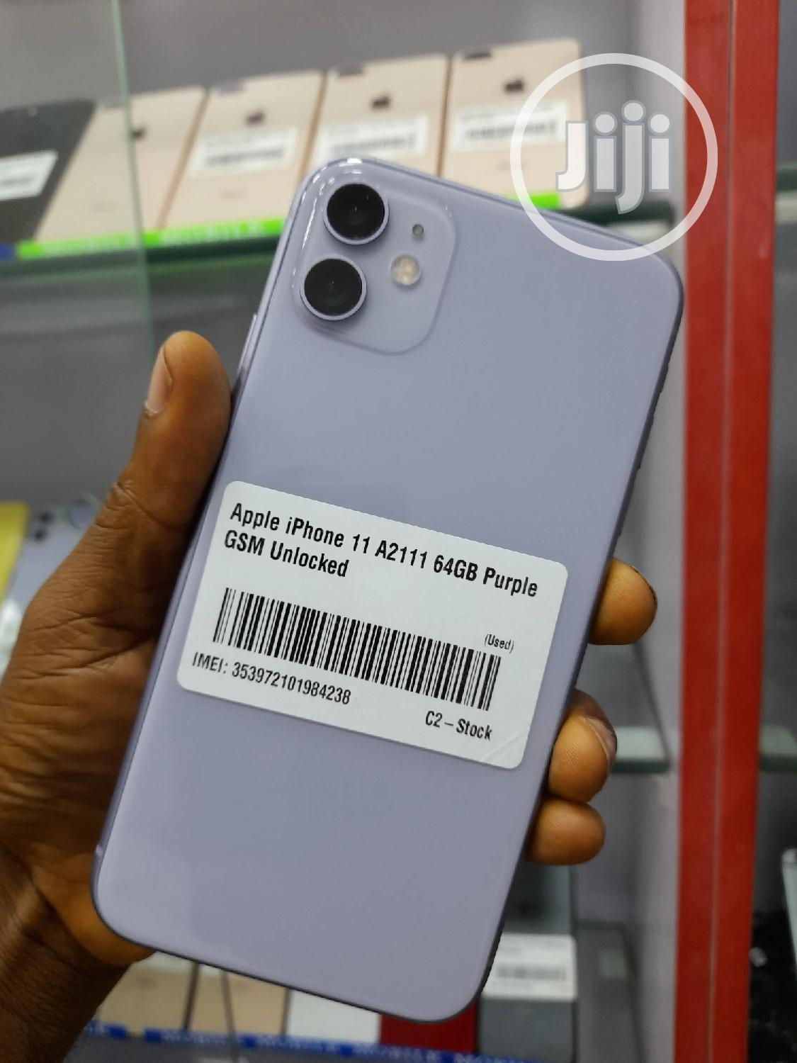 Apple iPhone 11 64 GB Silver | Mobile Phones for sale in Ikeja, Lagos State, Nigeria