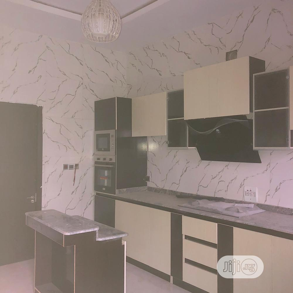 Lovely Built 4 Bedroom Semi-Detached Duplex With Bq | Houses & Apartments For Sale for sale in Chevron, Lekki, Nigeria