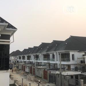Lovely Built 4 Bedroom Semi-Detached Duplex With Bq | Houses & Apartments For Sale for sale in Lekki, Chevron
