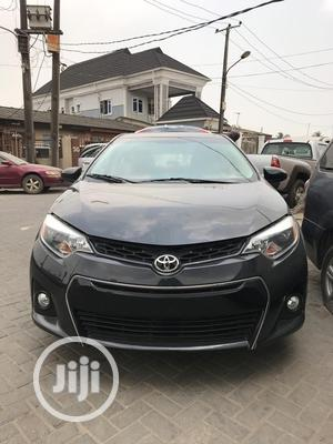 Toyota Corolla 2014 Black   Cars for sale in Lagos State, Surulere