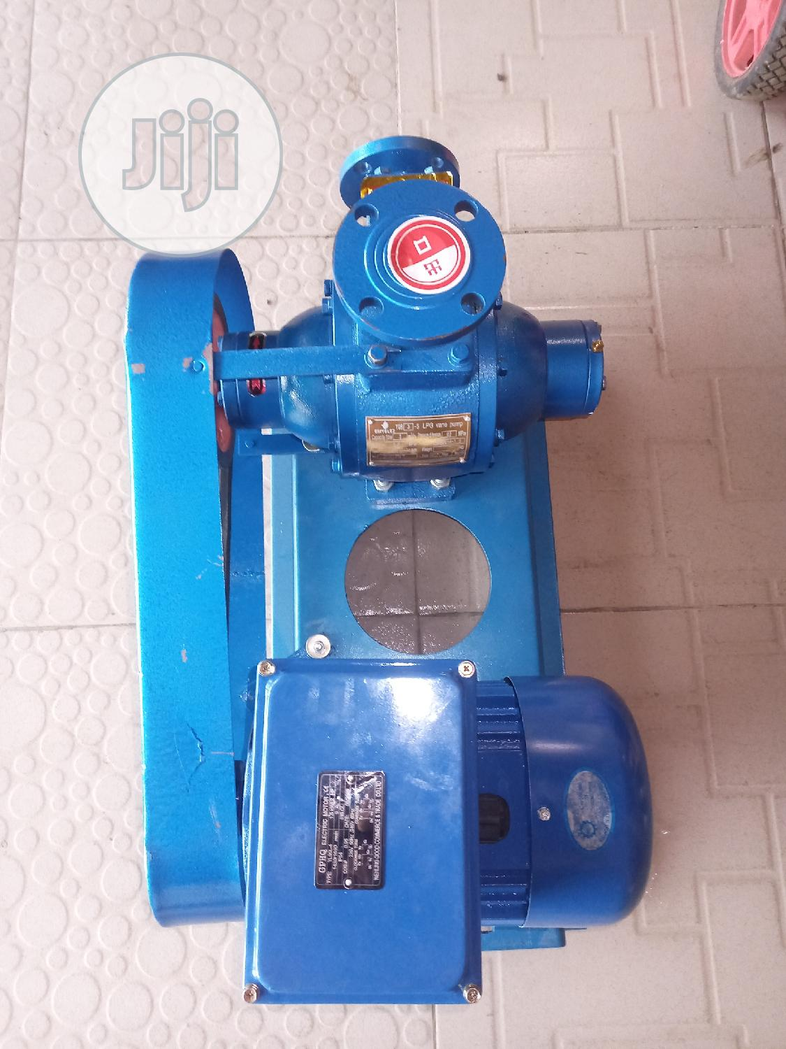 Archive: LPG Vane Pump 1inches, 2hp Ex Proof Electric Motor