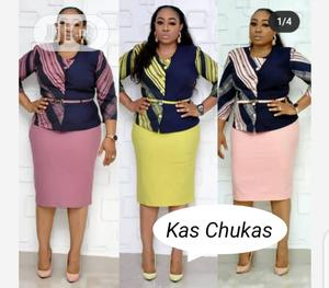 Classic Ladies Quality Fitted Gown | Clothing for sale in Lagos State, Ikeja