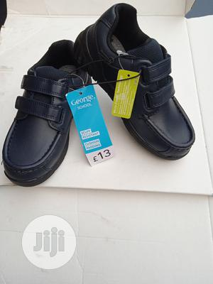 George Dark Navy Blue Boys School Shoes   Children's Shoes for sale in Lagos State, Isolo