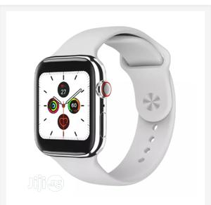 F18 Smart Watch With Heart Rate Monitor White Color | Smart Watches & Trackers for sale in Lagos State, Ikeja