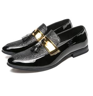 Black Golden Moccasins Loafers Shoe   Shoes for sale in Lagos State, Ikeja