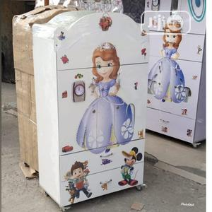 Baby Wooden Wardrobe White | Children's Furniture for sale in Lagos State, Ibeju