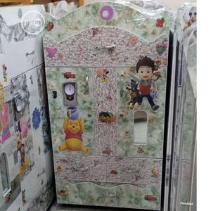 Baby Wooden Wardrobe White | Children's Furniture for sale in Lagos State, Ejigbo