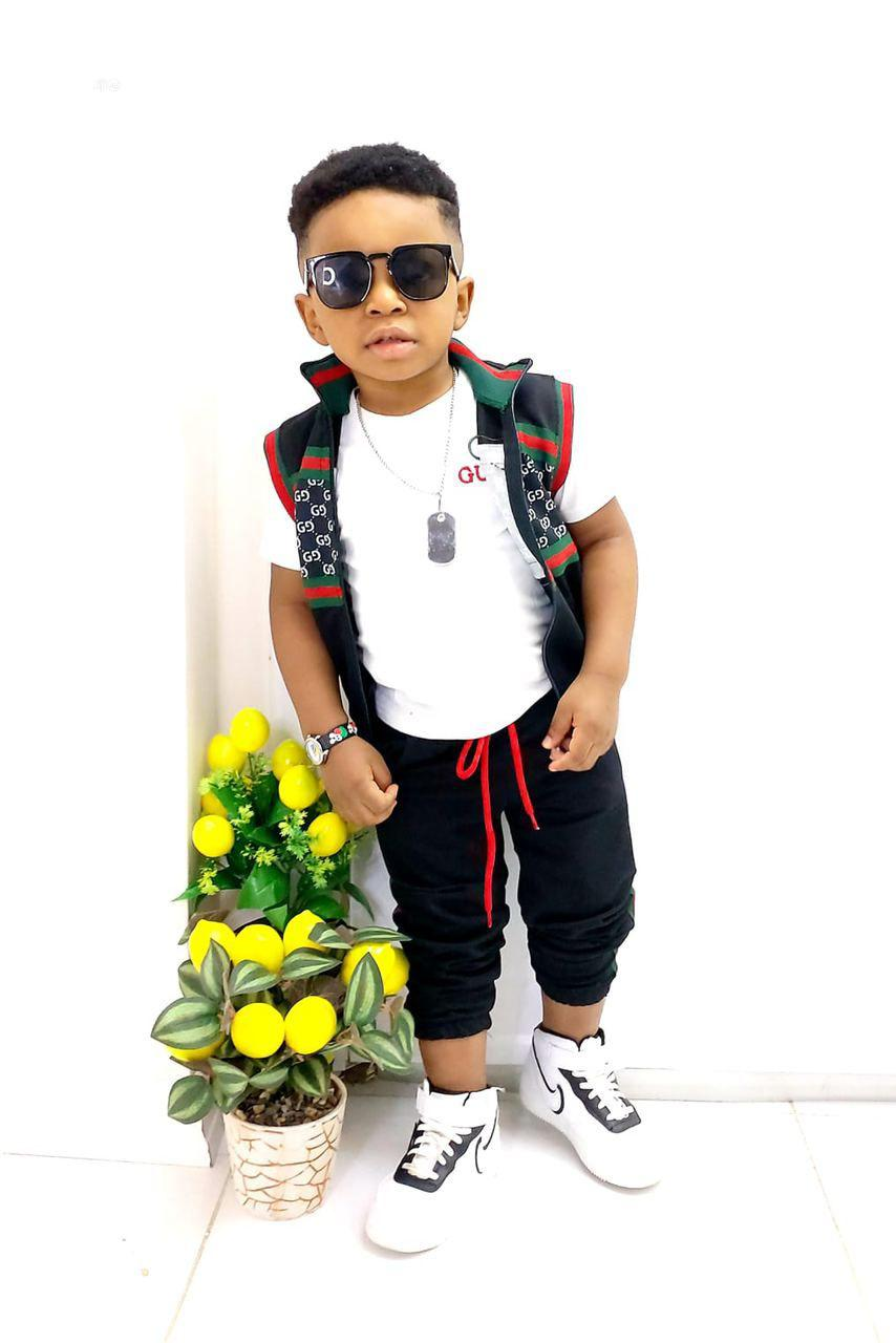 Quality Designer 3in1 Gucci Wears | Children's Clothing for sale in Isolo, Lagos State, Nigeria