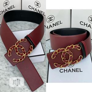 High Quality Chanel Leather Belt for Ladies | Clothing Accessories for sale in Lagos State, Magodo