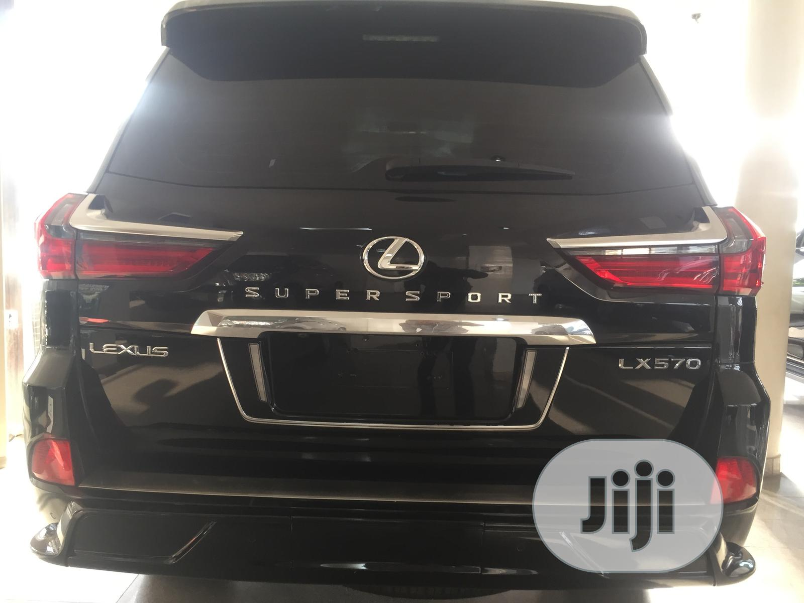 New Lexus LX 2020 Black   Cars for sale in Central Business Dis, Abuja (FCT) State, Nigeria