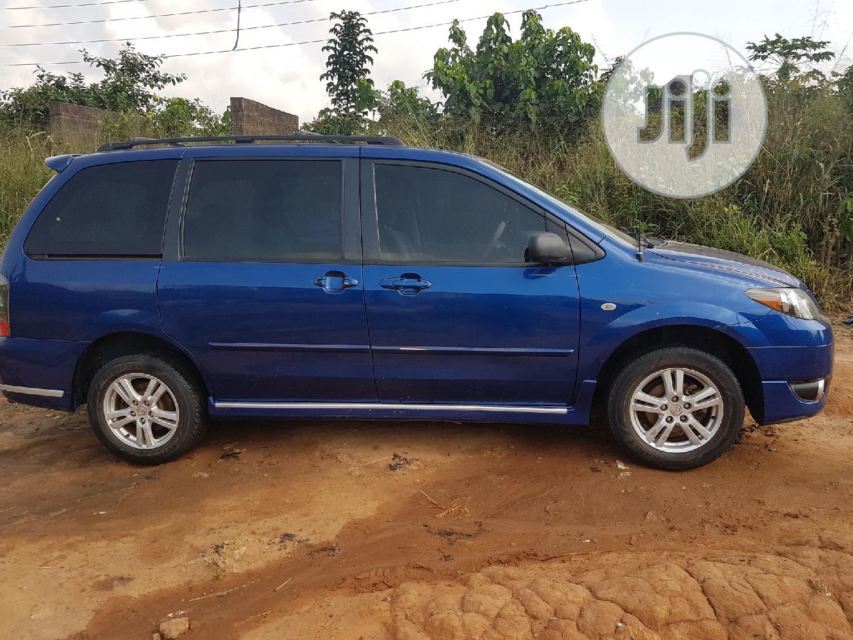 Archive: Mazda MPV 2004 LX Blue