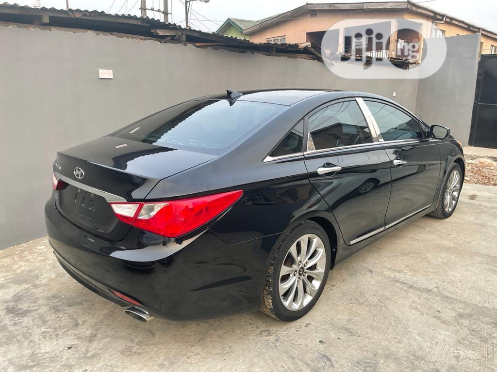 Hyundai Sonata 2011 Black | Cars for sale in Ogba, Lagos State, Nigeria