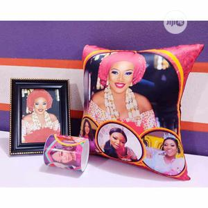 Portrait Frame and Throw Pillow | Arts & Crafts for sale in Lagos State, Surulere
