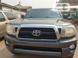 Toyota Tacoma 2011 Double Cab V6 Automatic Gray   Cars for sale in Lagos State, Alimosho