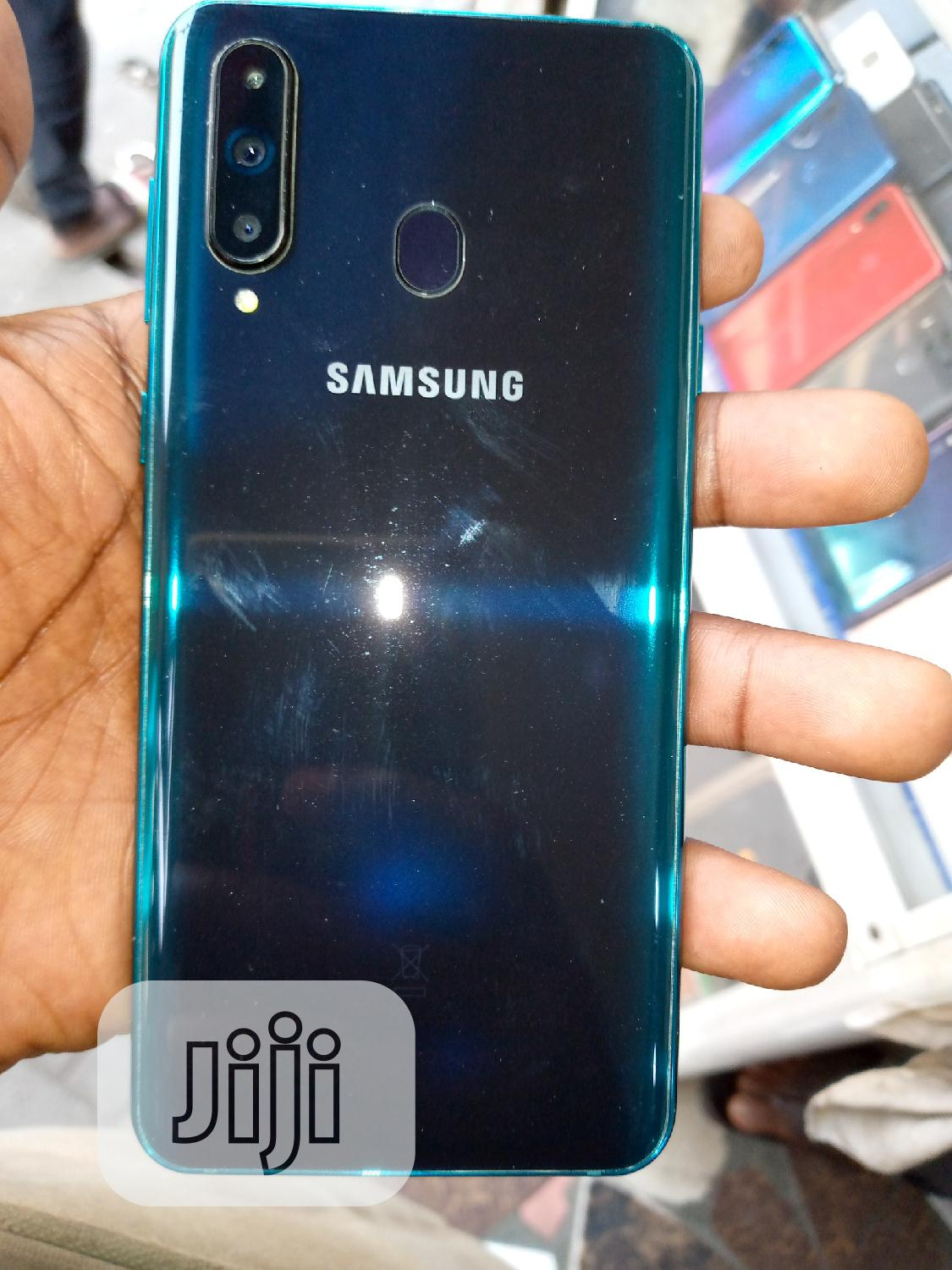 Samsung Galaxy A8S 128 GB Blue | Mobile Phones for sale in Ikeja, Lagos State, Nigeria