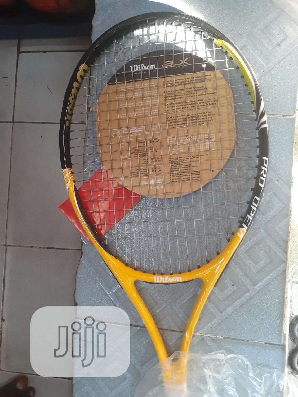Archive: Wilson Lawn Tennis Racket(3xl)