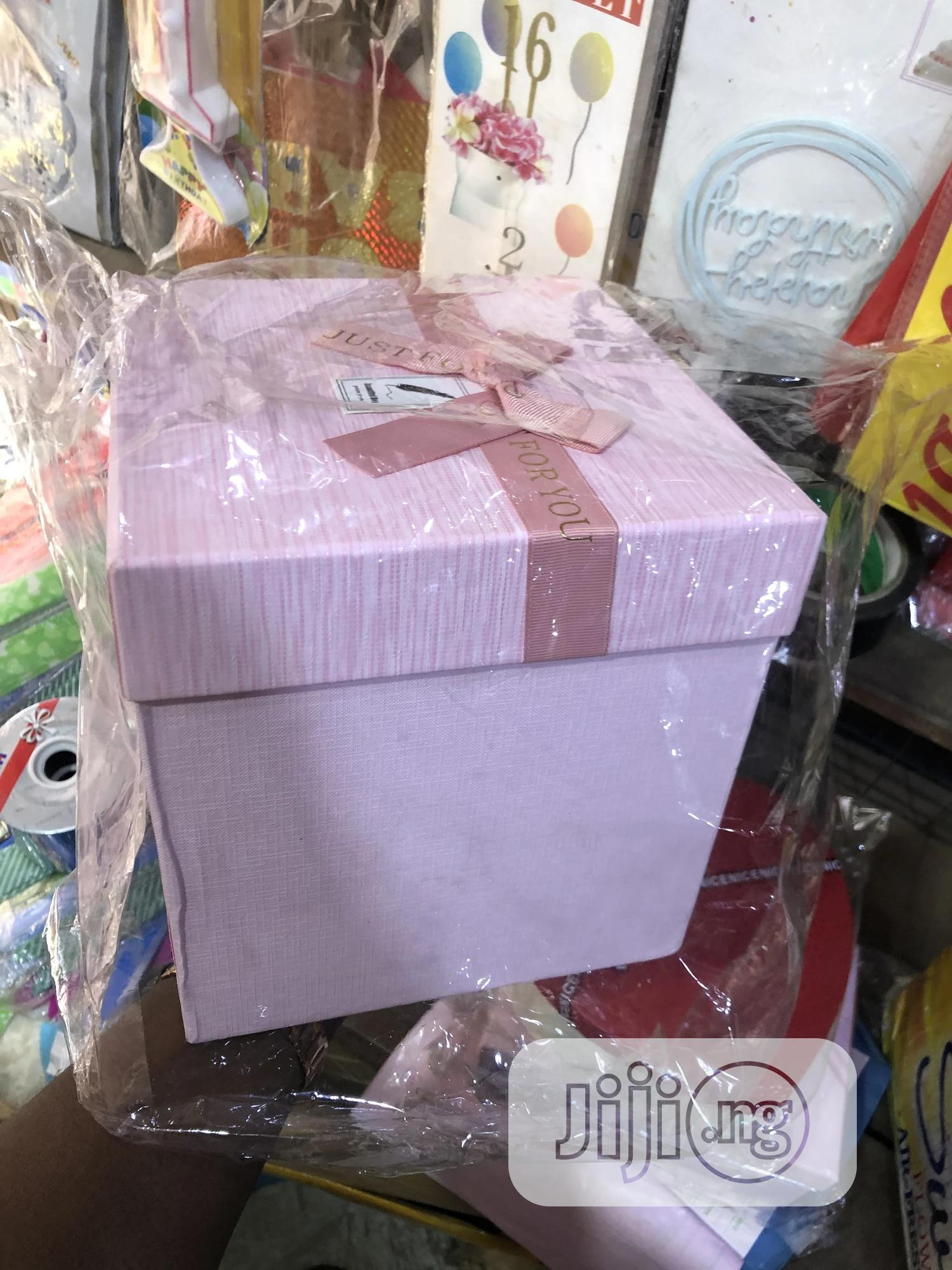 Archive: Gift Box Shapes