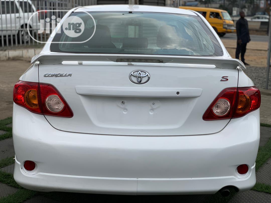 Toyota Corolla 2010 White   Cars for sale in Ikeja, Lagos State, Nigeria