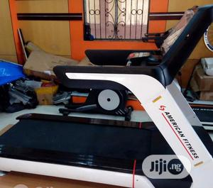 8hp Treadmill, American Fitness   Sports Equipment for sale in Lagos State, Ajah