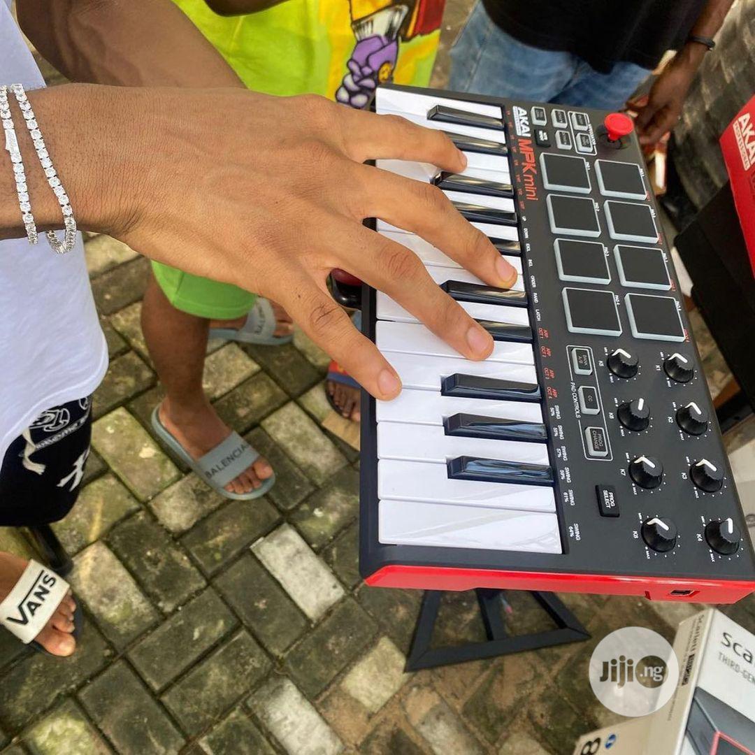 AKAI Professional MPK Mini - 25keys USB Midi Keyboard   Musical Instruments & Gear for sale in Ikeja, Lagos State, Nigeria