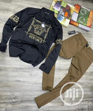Versace T-Shirt and Trouser | Clothing for sale in Lagos State, Lagos Island (Eko)