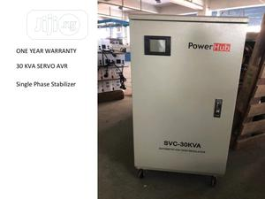 30KVA Single Phase Servo Stabilizer   Electrical Equipment for sale in Lagos State, Ikeja