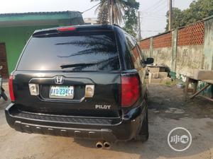 Honda Pilot 2004 EX 4x4 (3.5L 6cyl 5A) Black | Cars for sale in Lagos State, Apapa