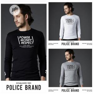 Police F566 Medium Size Long Sleeve T-Shirt   Clothing for sale in Lagos State, Surulere
