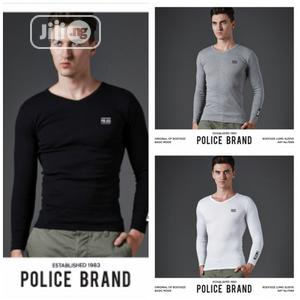 Police F569 Medium Size Long Sleeve T-Shirt   Clothing for sale in Lagos State, Surulere
