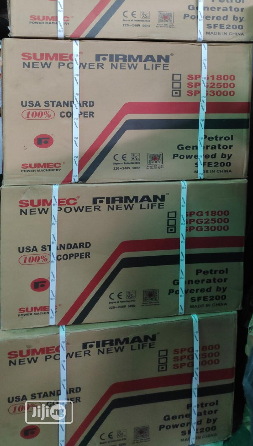"Sumec Firman Spg3000 With ""100% USA Copper Coil"" 