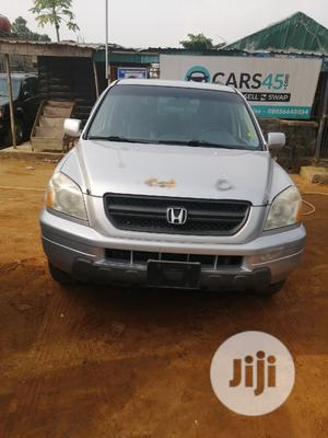 Honda Pilot 2004 LX 4x4 (3.5L 6cyl 5A) Silver | Cars for sale in Lagos State, Ojo