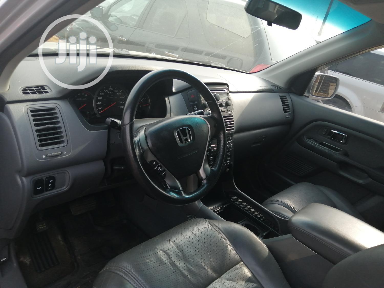 Honda Pilot 2004 LX 4x4 (3.5L 6cyl 5A) Silver | Cars for sale in Ojo, Lagos State, Nigeria