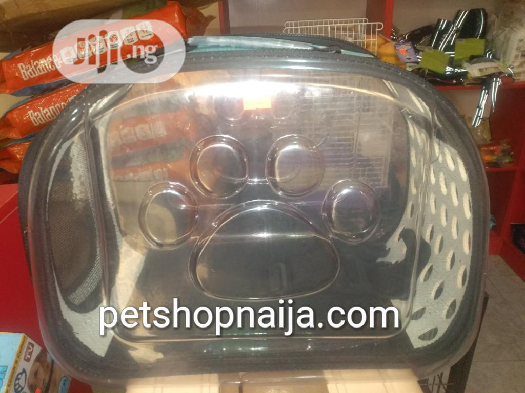 Pet Bag (Transparent) for Sale | Pet's Accessories for sale in Gwarinpa, Abuja (FCT) State, Nigeria