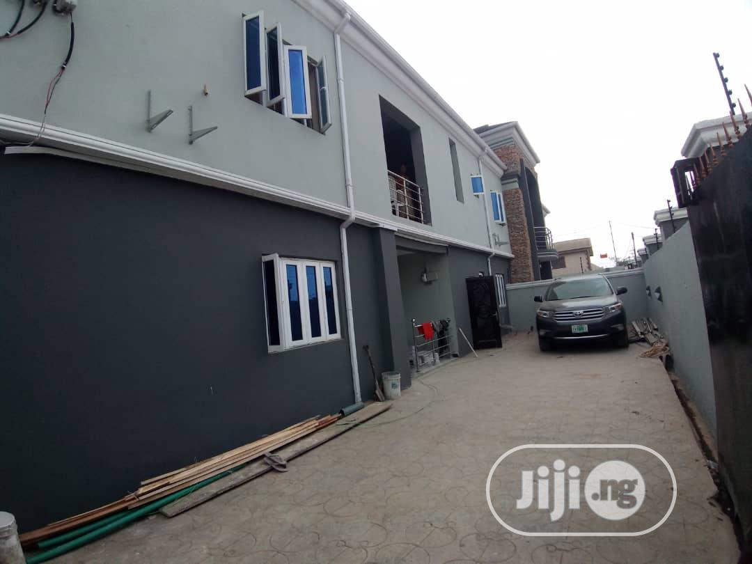 Newly Built 3bedroom Flat Apartment, at Shagari Est, Egbeda