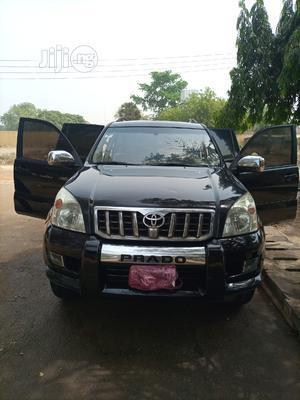 Toyota Land Cruiser Prado 2007 GX Black   Cars for sale in Abuja (FCT) State, Asokoro