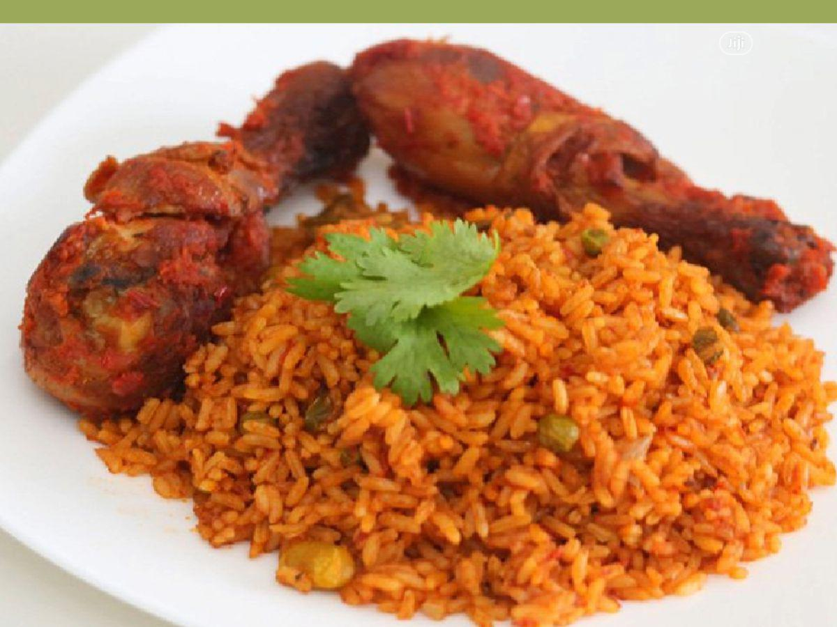 Sweet Jollof Rice With Chicken, Fish and Plantain | Meals & Drinks for sale in Ikeja, Lagos State, Nigeria